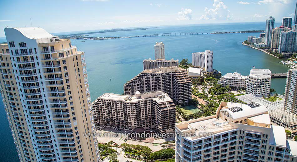 Brickell Key One condominiums