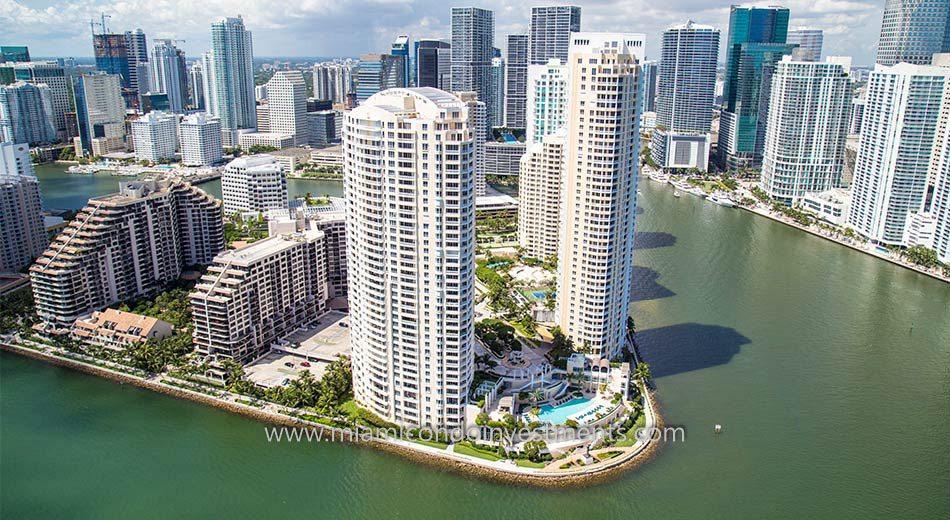 Brickell Key Two condos in Miami