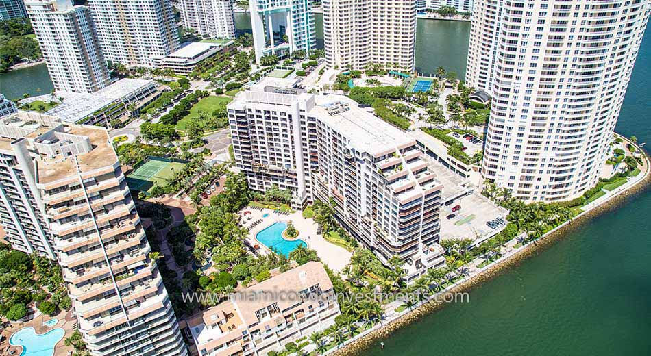 Brickell Key Two aerial photo