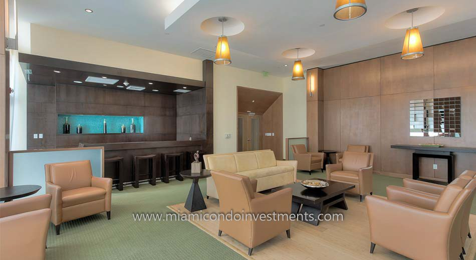 club room at Brickell on the River North