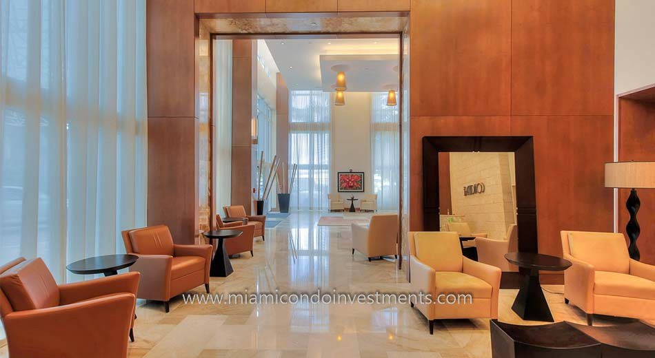 Brickell on the River North lobby
