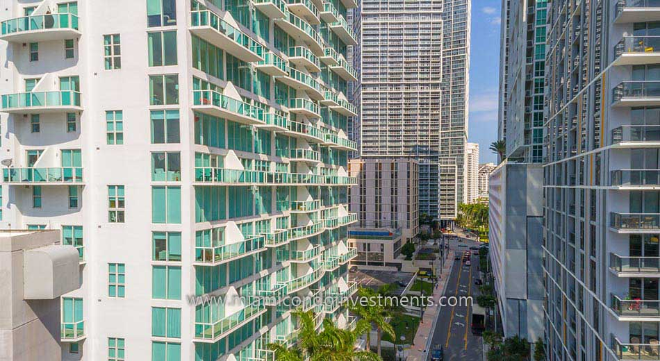 Brickell on the River South condos in Miami