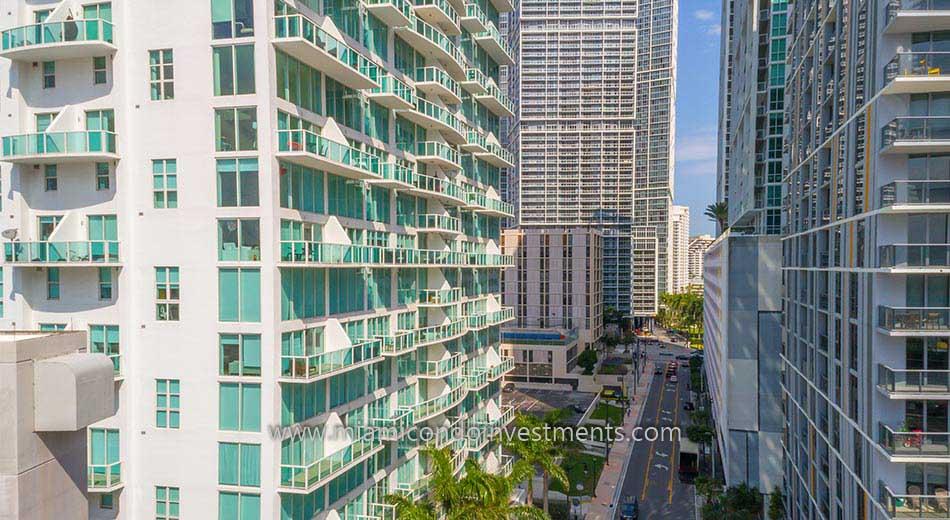 Brickell on the River South condos in Miami