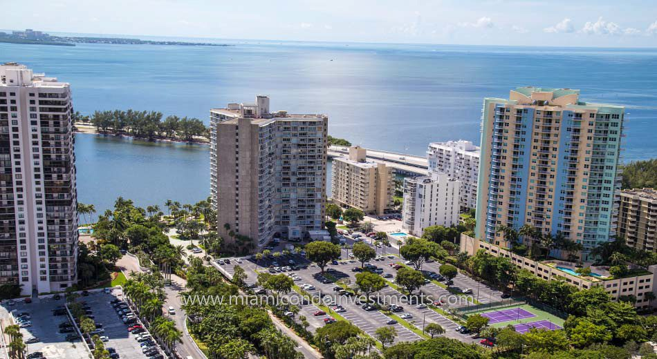 views from Brickell Townhouse