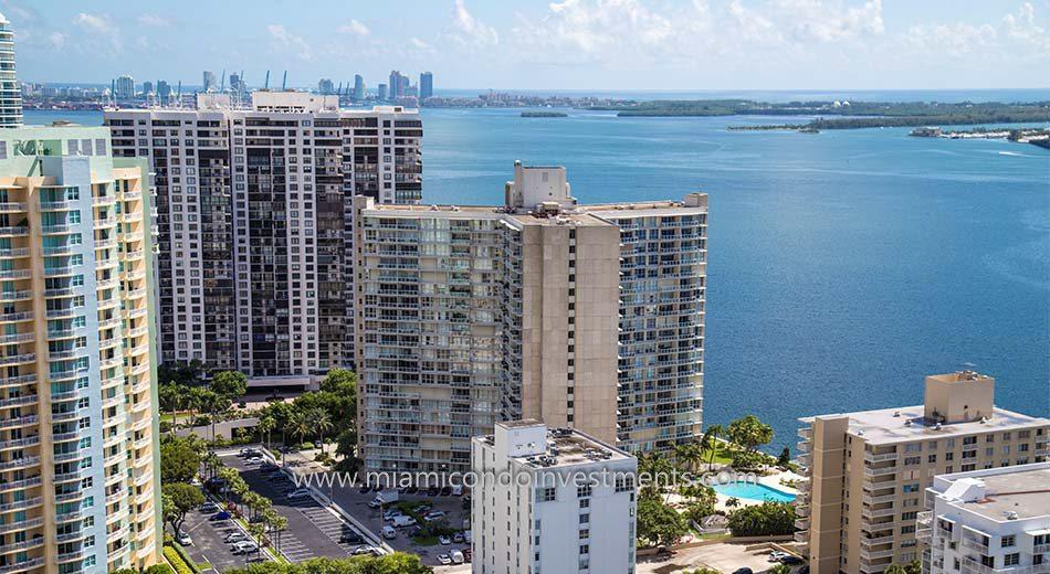 Brickell Townhouse at 2451 Brickell Avenue in Miami Florida