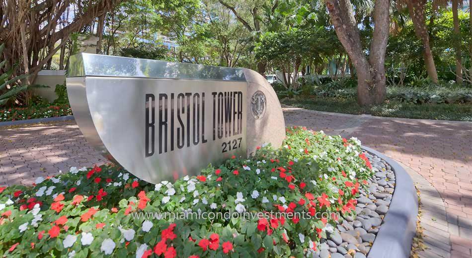 Bristol Tower at 2127 Brickell Avenue Miami Florida