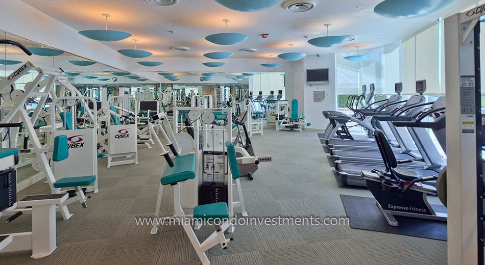 Bristol Tower fitness center