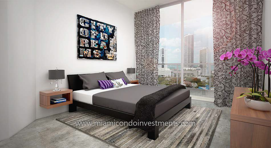 Canvas Miami bedroom