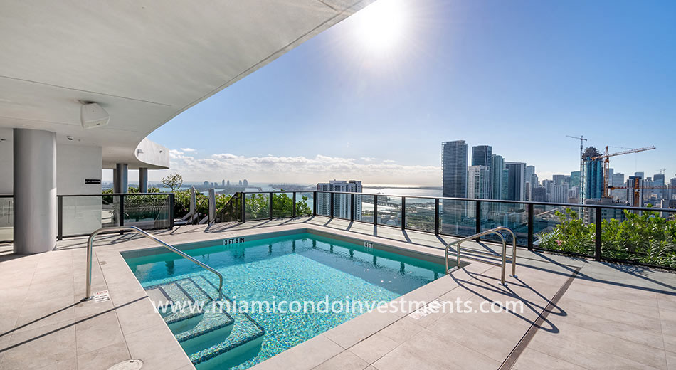 Canvas rooftop pool