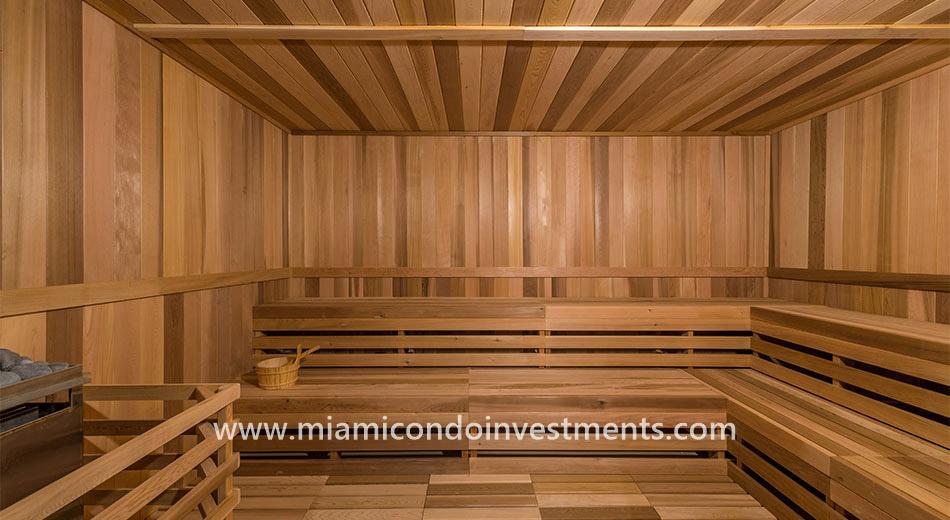 Canvas sauna