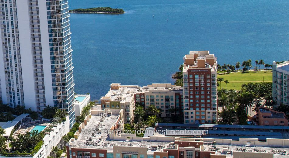 views from Cite on the Bay east tower condos