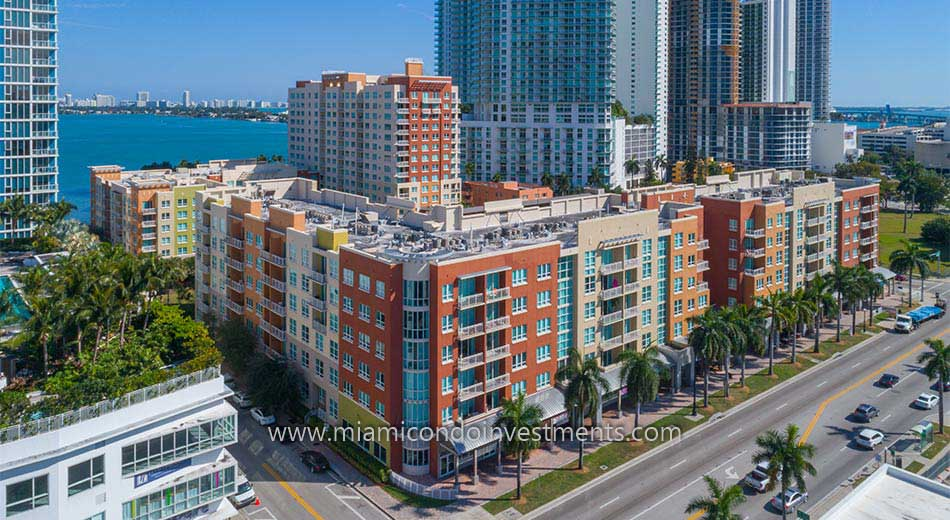 Cite on the Bay West condos at 2001 Biscayne Blvd