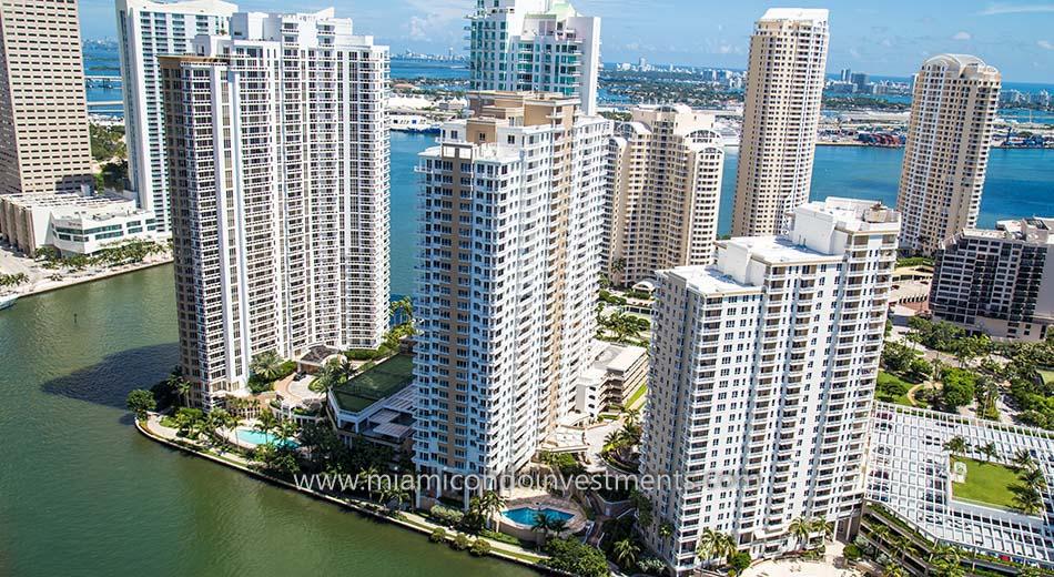 Courts Brickell Key Miami condos