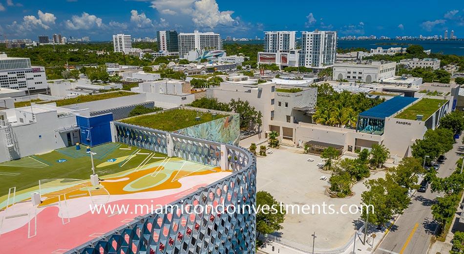 Miami Design District condo skyline