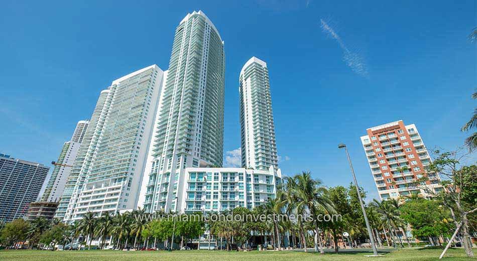 Edgewater Miami condos near Margaret Pace Park