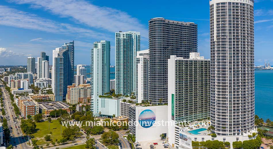 Edgewater Miami buildings
