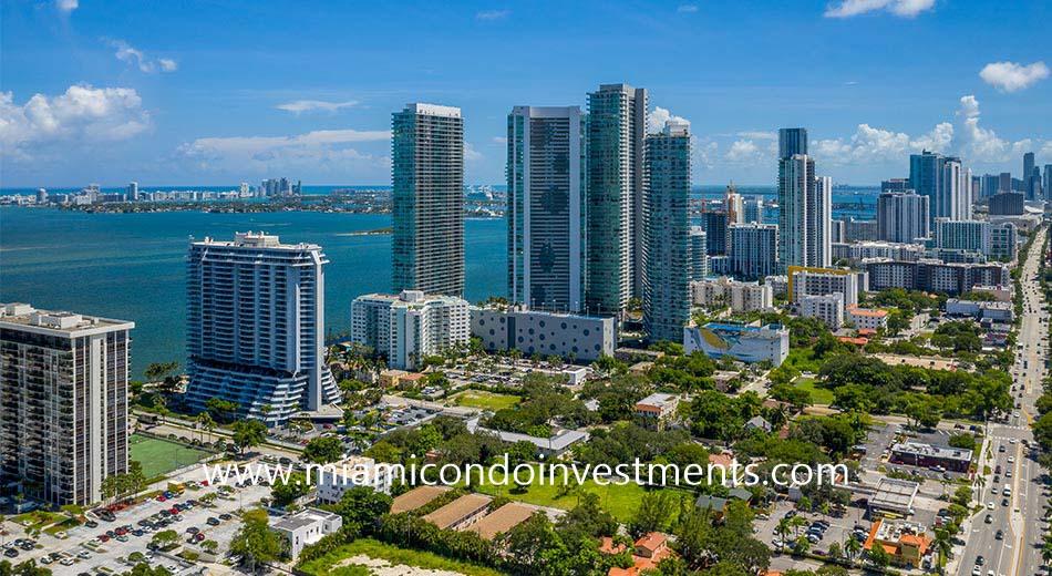 Edgewater Miami skyline