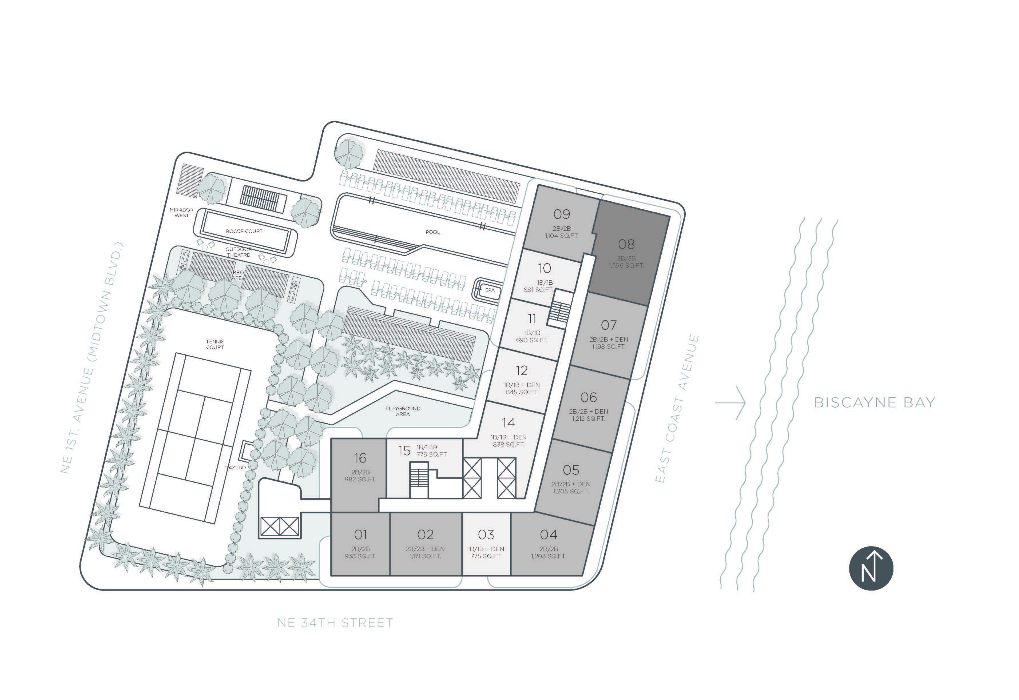 hyde-midtown-tower-residences-site-plan