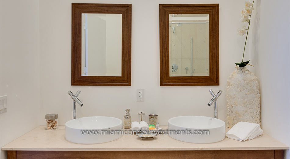Brickell condos luxury baths