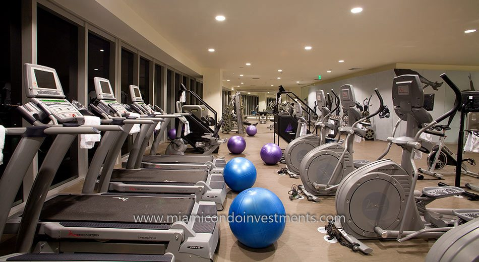 Icon Brickell tower 3 gym
