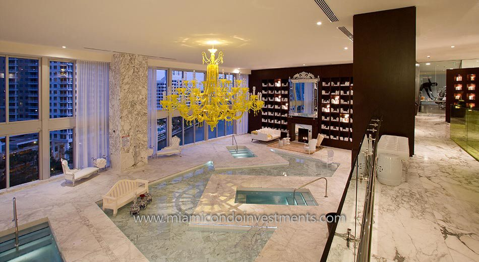 Icon Brickell tower 3 spa