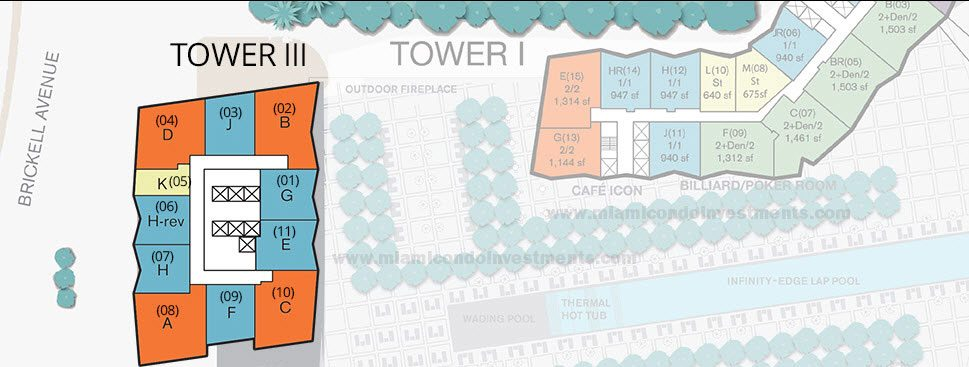 icon-brickell-tower-3-viceroy-siteplan