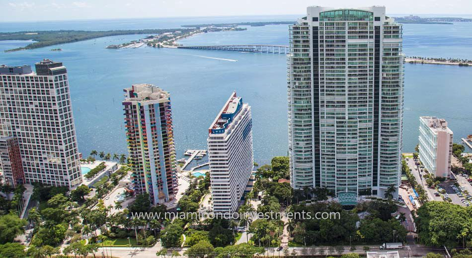 Imperial at Brickell Miami bayfront