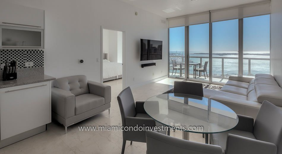 2 bedroom condo at Marina Blue
