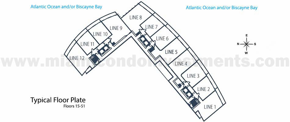Marina Blue site plan