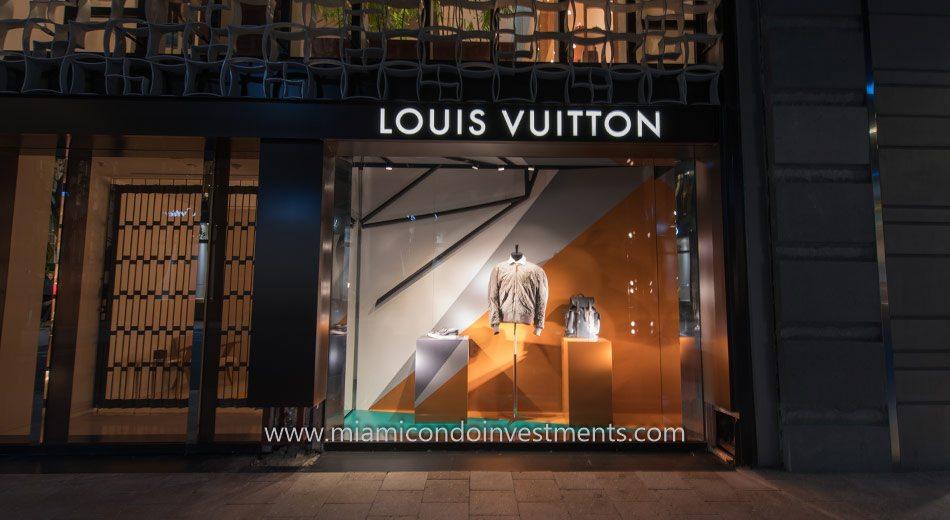 Louis Vuitton at Miami Design District