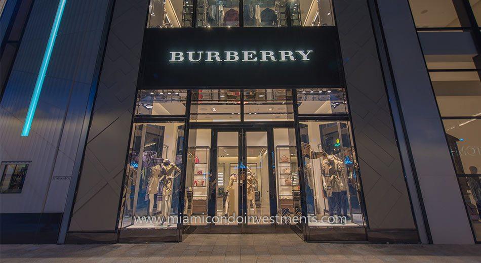 Burberry at Miami Design District