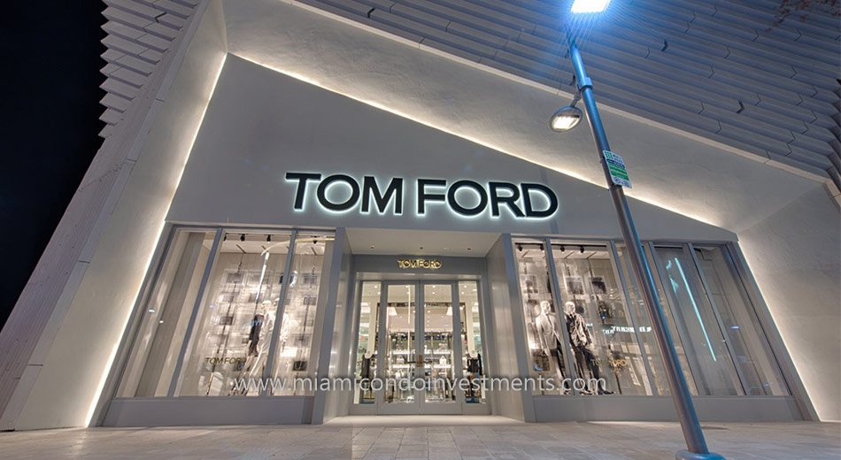 Tom Ford at Miami Design District