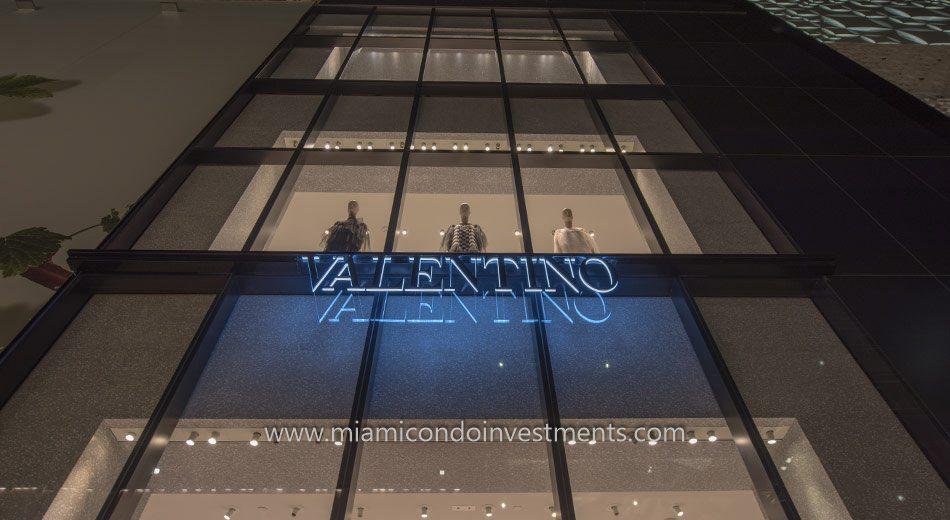 Valentino at Design District in Miami