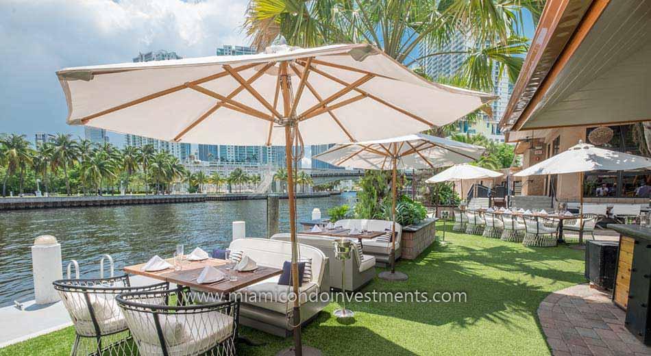 views of the Miami River