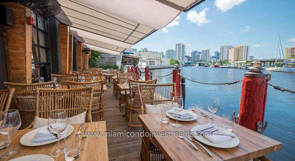Seaspice along the Miami River