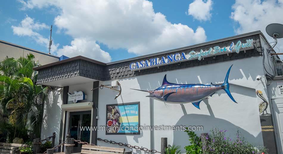 Miami River Casablanca restaurant