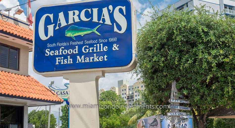 Garcia's Seafood along the Miami River