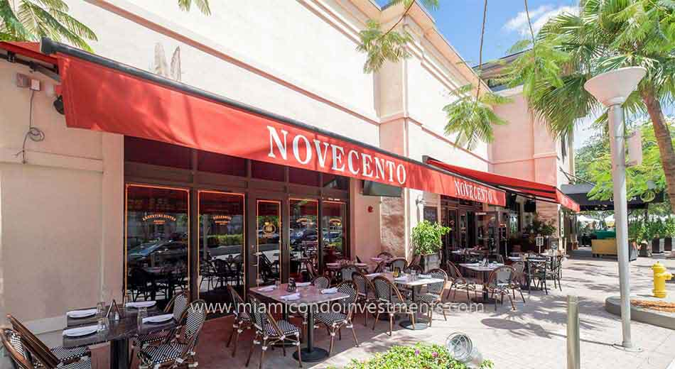 Novecento restaurant at Midtown Miami