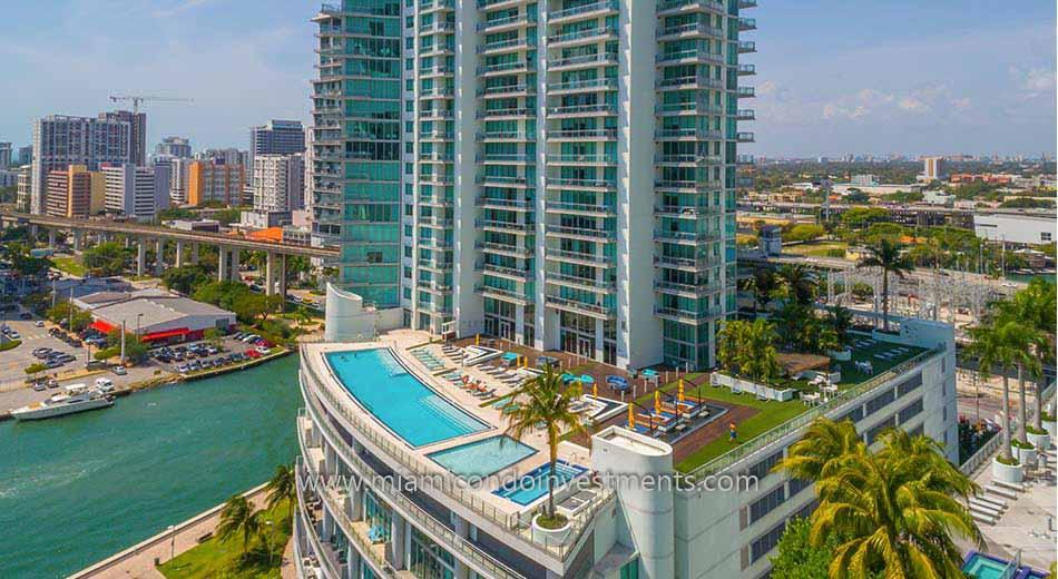 Mint at Riverfront pool deck