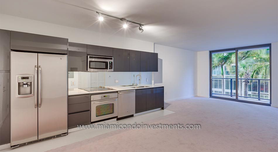 luxury miami condos kitchen