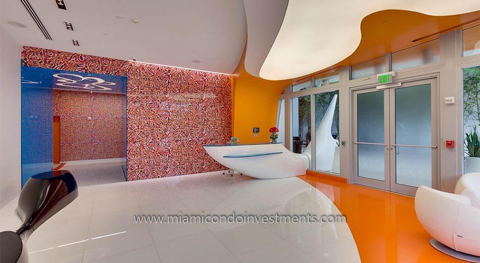 Mybrickell condo lobby