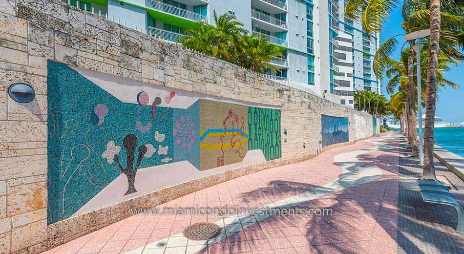 art walk at One Miami
