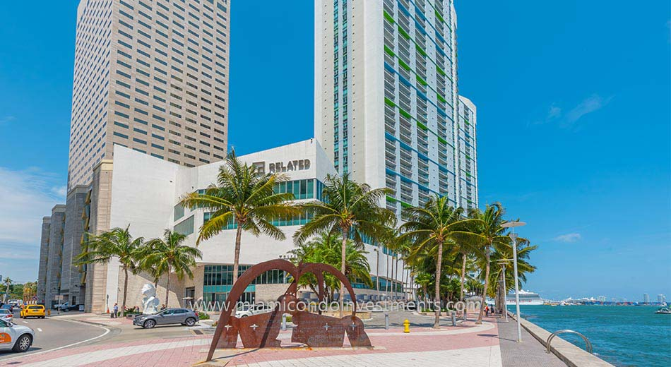 One Miami West tower condominiums