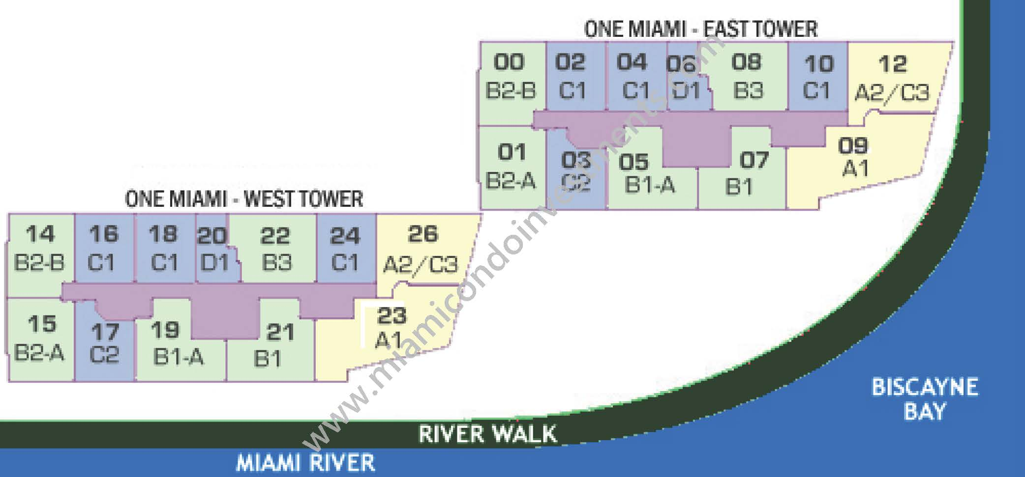 one-miami-siteplan