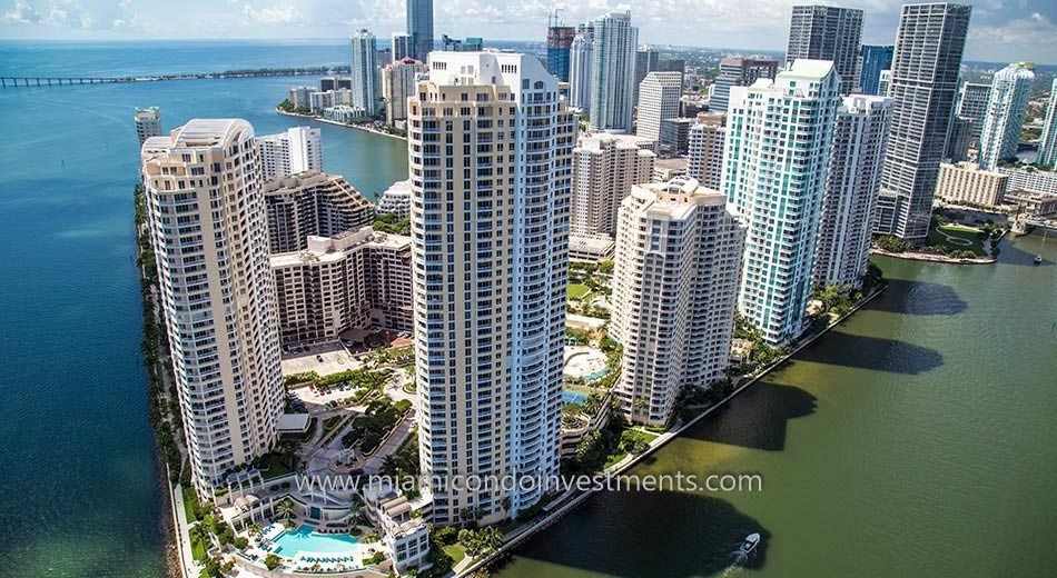 brickell key miami condos