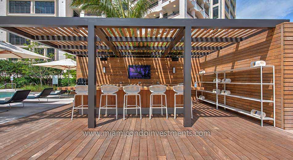 Palazzo Del Sol poolside bar