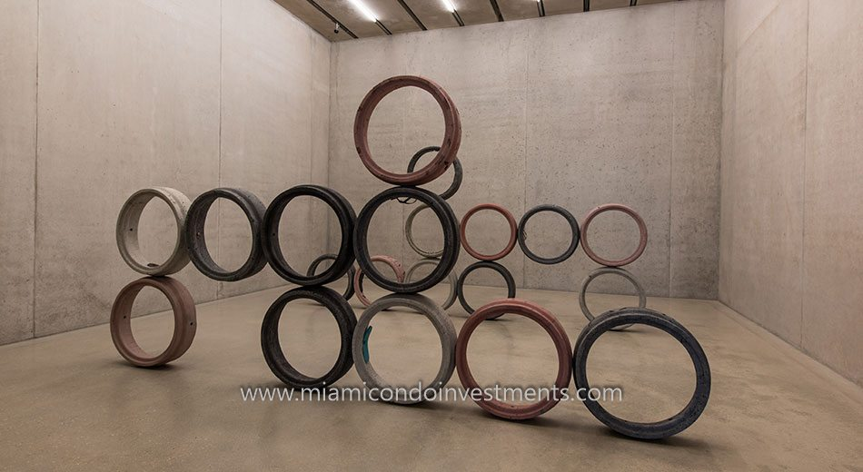art installation at Perez Art Museum Miami