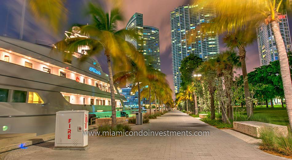 Museum Park in Park West Miami