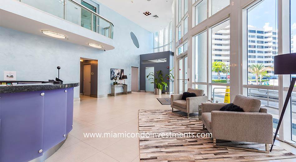 Platinum Condominium lobby