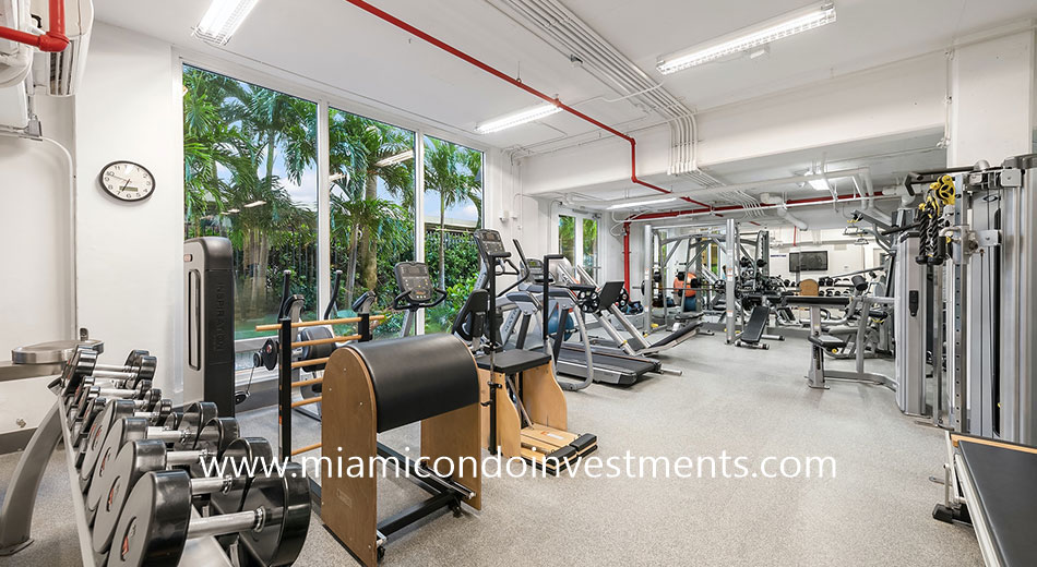 Residences at Vizcaya fitness center